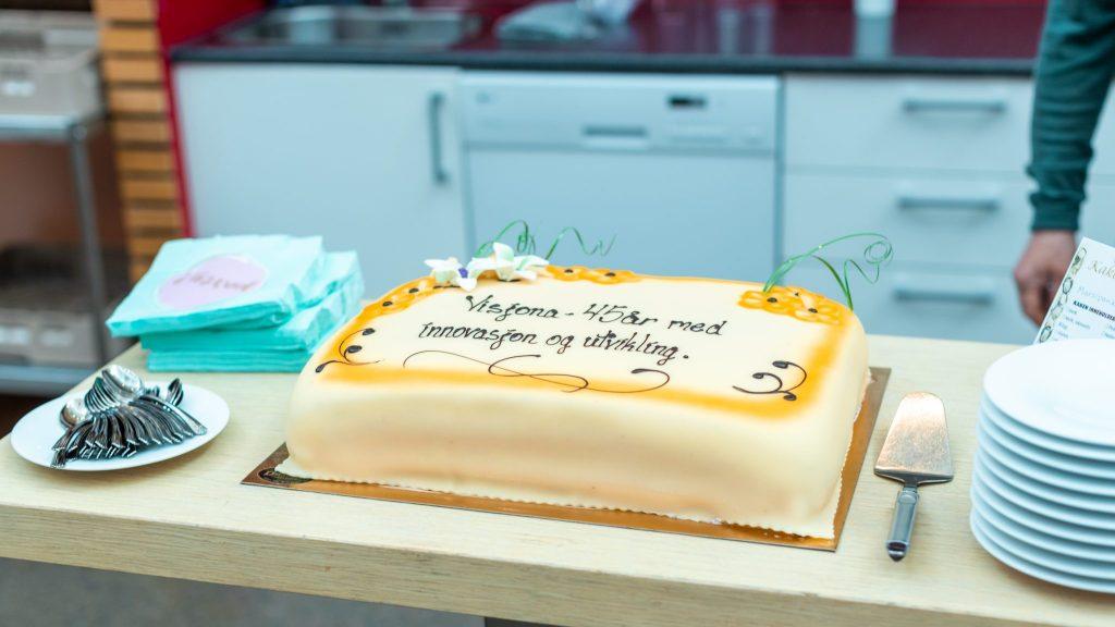 45 årsjubileet og navnebyttet ble feiret sammen med kunder og samarbeidspartnere i Kunnskapsparken Alta.